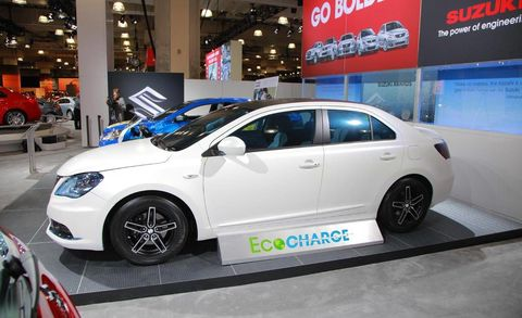 Suzuki Kizashi Concept Kizashi Ecocharge At New York Auto Show