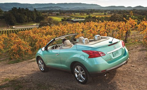 2011 Nissan Murano Crosscabriolet Review First Drive
