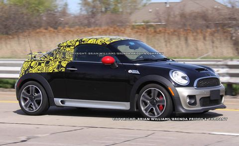 2013 Mini John Cooper Works Coupe 2013 Mini Jcw Coupe Spy Photos