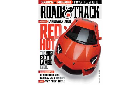 road  track july 2011 cover