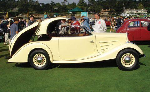 Clothing, Tire, Wheel, Motor vehicle, Mode of transport, Land vehicle, Vehicle, Automotive design, Classic car, Photograph,