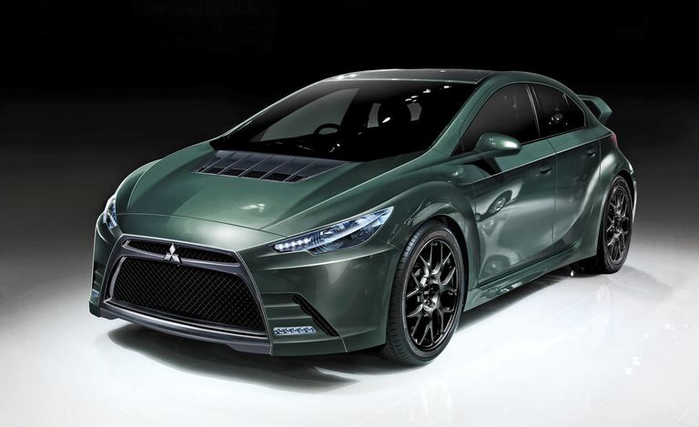 New Hybrid Mitsubishi Evo Meaner And Greener Here S Hoping For The Former
