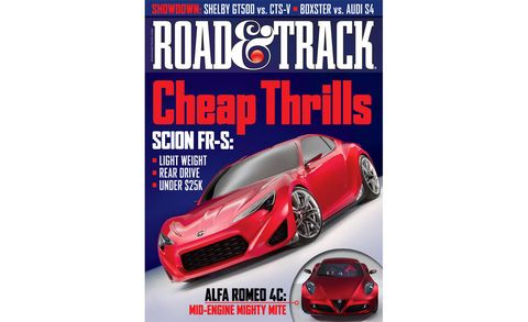 road  track august 2011 cover