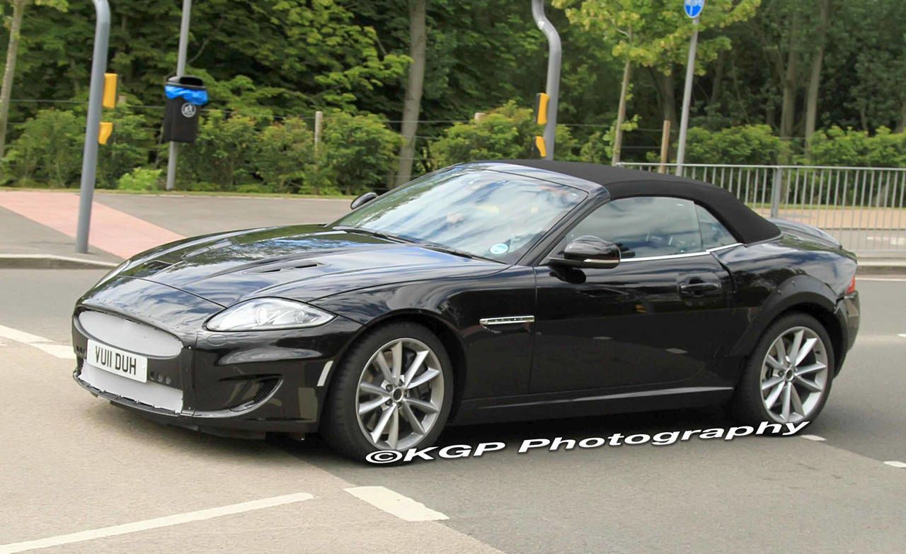 The Long Rumored 2013 Jaguar XE Sports Car Has Finally Broken Cover In  Development Tests And It Looks Like The Front Engine/rear Drive 911 Fighter  Draws A ...