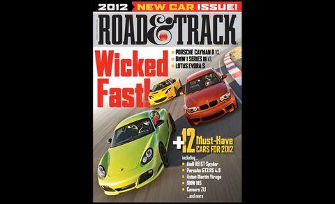 road  track september 2011 cover