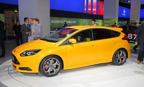 2012 Ford Focus St Ford Focus St At 2011 Frankfurt Auto Show