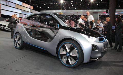 Bmw I3 Concept 2017 Frankfurt Auto Show