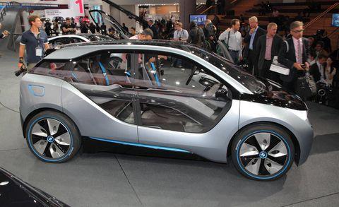 BMW i3 Concept - BMW i3 Concept at 2011 Frankfurt Auto Show