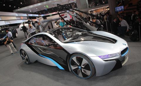 If You Feel Like Ve Seen This Car Before It S Because An Evolution Of The Vision Dynamic Concept Shown At 2009 Frankfurt Auto Show I8