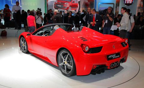 Hottest Sports Cars At The Frankfurt Auto Show - Sports cars with back seats