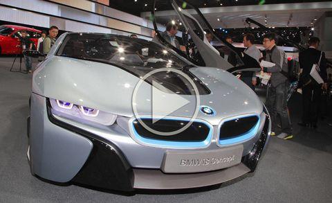 Bmw I8 Concept Video Bmw I8 Concept At Frankfurt Auto Show