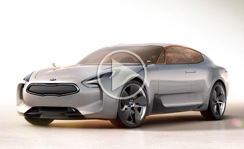 Kia GT Concept Video – Kia GT Concept at Frankfurt Auto Show