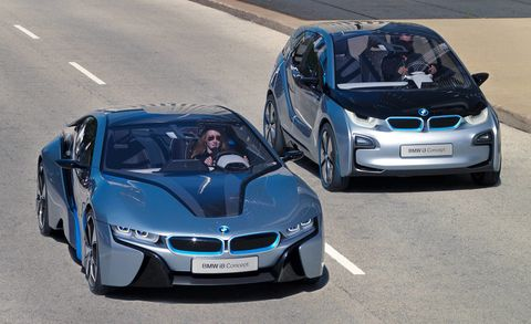 BMW i3 and BMW i8 2011 Los Angeles Auto Show Preview