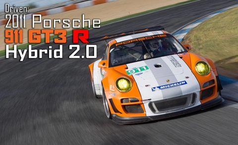 2017 Porsche 911 Gt3 R Hybrid 2 0