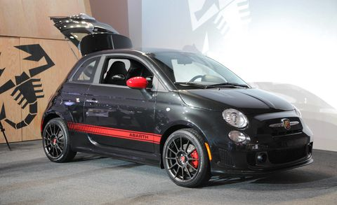2012 Fiat 500 Abarth Specs, Price and Pictures at 2011 LA Auto Show