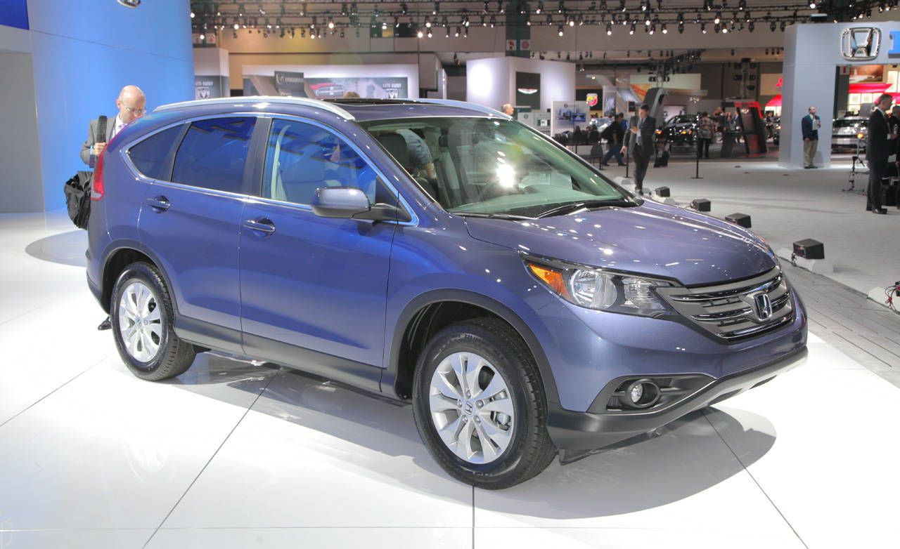 Honda Rolled Three Of Its New 2012 CR V Sport Utility Vehicles Onto Stage  Here At The Los Angeles Auto Show. The Detailing Was Only Slightly  Different Among ...