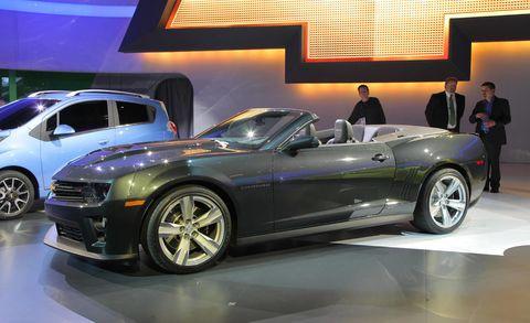 2013 Chevrolet Camaro ZL1Convertible – ZL1 Specs, Price ... 2013 Camaro Zl1 Supercharger Problems