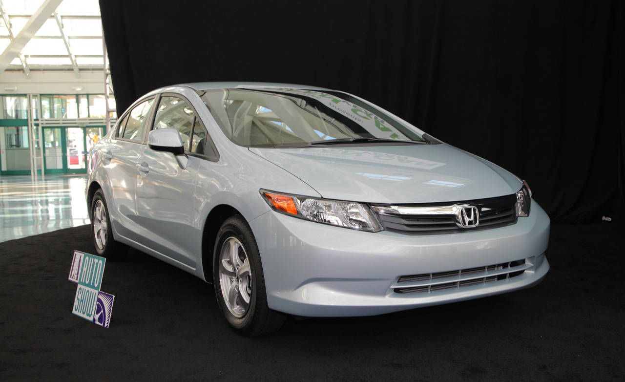 At Todayu0027s Los Angeles Auto Show, The Honda Civic Natural Gas Was Honored  As The 2012 Green Car Of The Year. This Prestigious Title Is Awarded By  Green Car ...