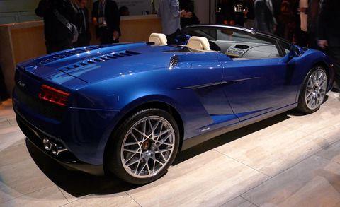 2012 Lamborghini Gallardo Lp550 2 Spyder First Pictures