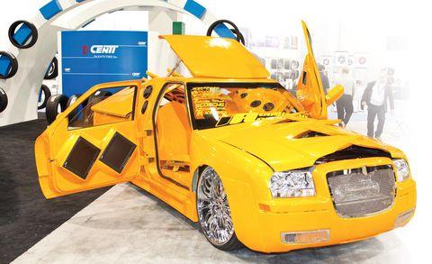 Motor vehicle, Tire, Wheel, Automotive design, Mode of transport, Transport, Yellow, Vehicle, Land vehicle, Automotive wheel system,