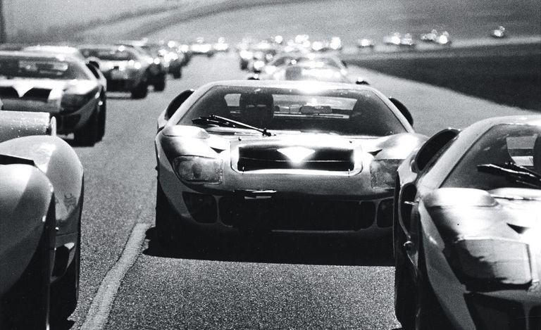 Ford GT40, photo courtesy of Road and Track