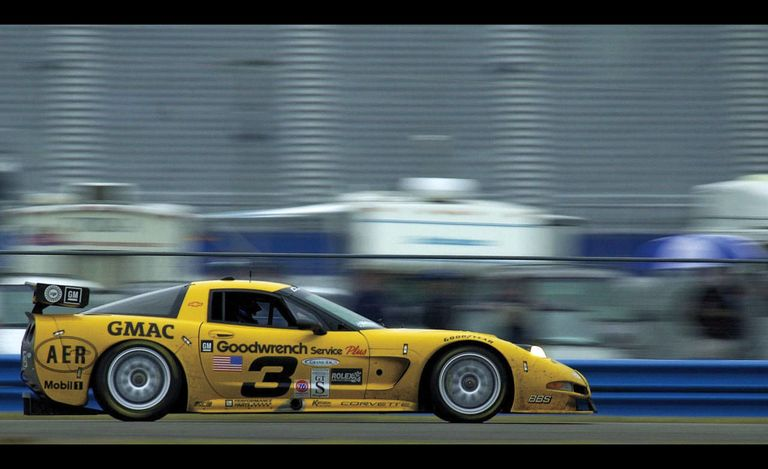 Dale Earnhardt's Corvette, photo courtesy of Road and Track