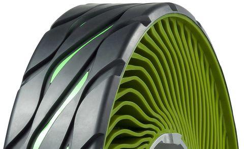 bridgestone air free tire concept airless tire concept. Black Bedroom Furniture Sets. Home Design Ideas