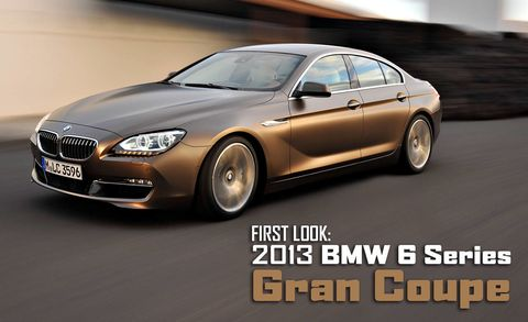2013 Bmw 6 Series Gran Coupe New Bmw 6 Series Sedan Pictures