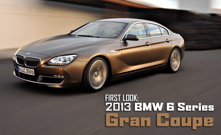 BMW Series Gran Coupe New BMW Series Sedan Pictures - Bmw 6 series 2011