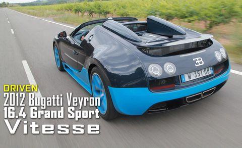 2012 Bugatti Veyron 16 4 Grand Sport Vitesse Review Specs And