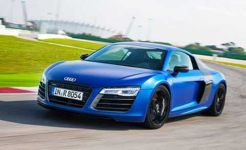 Audi R First Drive New R V And R V Specs RoadandTrackcom - Audi r8 pictures