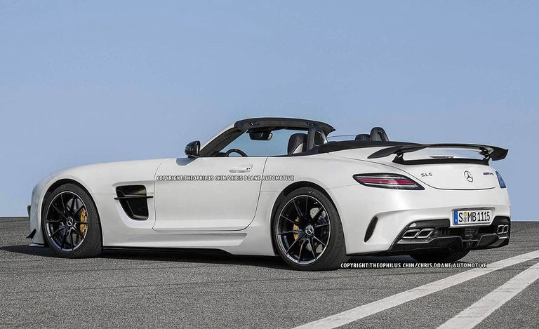 2013 Mercedes Benz Sls Amg Black Series Roadster First
