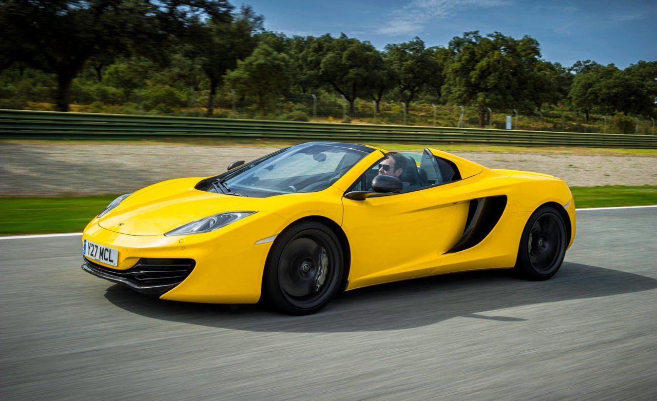 Elegant With The MP4 12C Spider, McLaren Adds Infinite Headroom And Takes Away  Nothing.