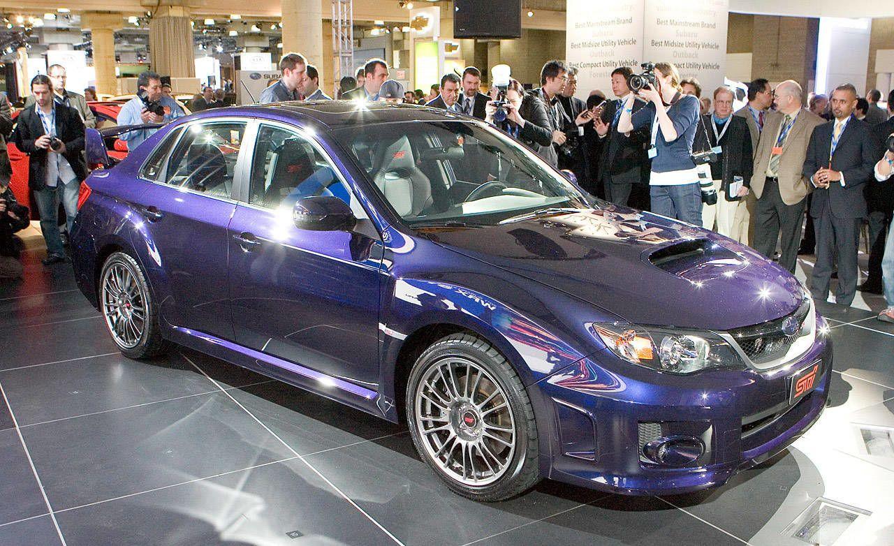 Photos 2011 Subaru Impreza Wrx Sti Sedan