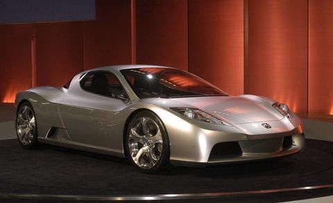 Do You Remember The Acura Corvette Nsx Concept