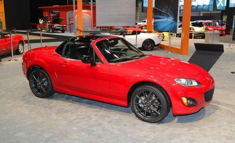 2012 Mazda Mx 5 Miata Special Edition 2012 Chicago Auto Show