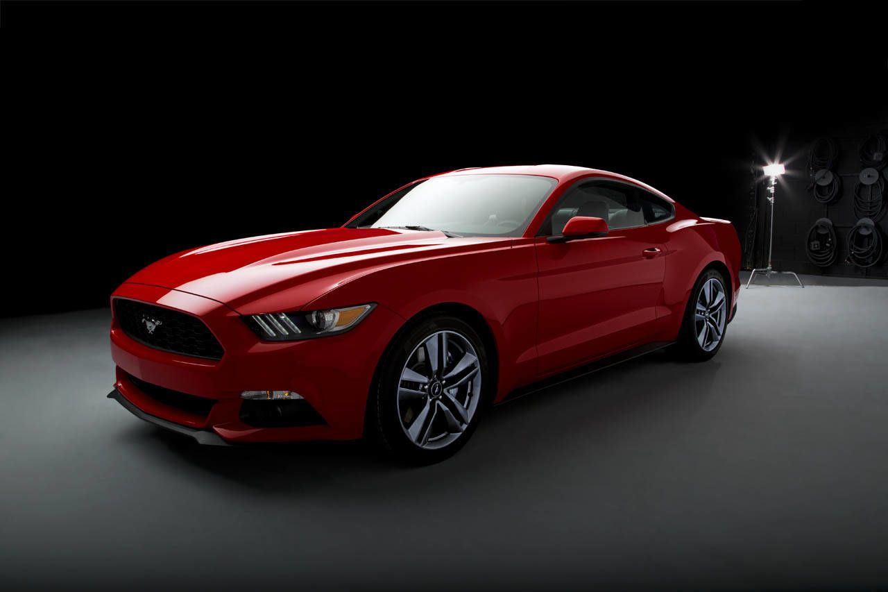 The 2015 Ford Mustang wants to conquer the world