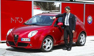 Motor vehicle, Mode of transport, Automotive design, Vehicle, Land vehicle, Alfa romeo mito, Car, Red, Automotive mirror, Fender,