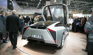Mode of transport, Automotive design, Product, Transport, Vehicle, Event, Property, Concept car, Car, Auto show,