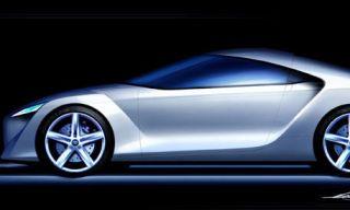 Automotive design, Automotive lighting, Automotive exterior, Alloy wheel, Rim, White, Car, Vehicle door, Concept car, Fender,