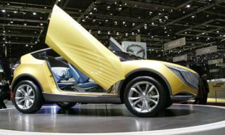 Motor vehicle, Mode of transport, Automotive design, Yellow, Vehicle, Land vehicle, Transport, Property, Car, Concept car,