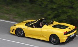 Tire, Wheel, Mode of transport, Automotive design, Road, Yellow, Vehicle, Transport, Automotive mirror, Infrastructure,