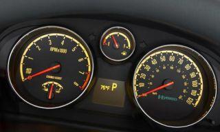 Motor vehicle, Mode of transport, Transport, Yellow, Speedometer, Red, White, Gauge, Tachometer, Amber,