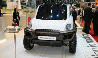 Motor vehicle, Mode of transport, Automotive design, Product, Transport, Automotive tire, Automotive exterior, Automotive mirror, Photograph, White,