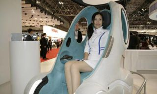 Human, Product, Fun, People, Automotive design, Photograph, White, Comfort, Sitting, Beauty,