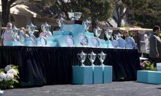 Blue, Photograph, White, Community, Tablecloth, Crowd, Black, World, Aqua, Teal,