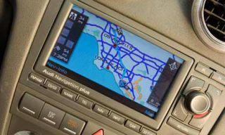 Electronic device, Display device, Technology, Electronics, Gps navigation device, Multimedia, Vehicle audio, Automotive navigation system, Silver, Luxury vehicle,