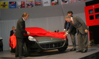 Tire, Mode of transport, Automotive design, Vehicle, Grille, Red, Car, Luxury vehicle, Sports car, Headlamp,