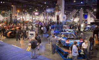 Hall, Machine, Light fixture, Luxury vehicle, Auto show, Factory, Market,