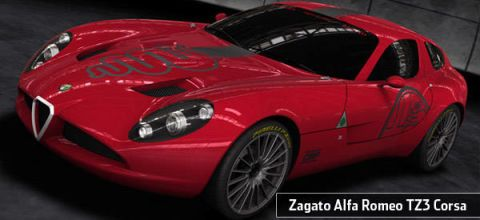 First Look At The New Zagato Alfa Romeo TZ Corsa Photos And Just - Alfa romeo tz3 corsa